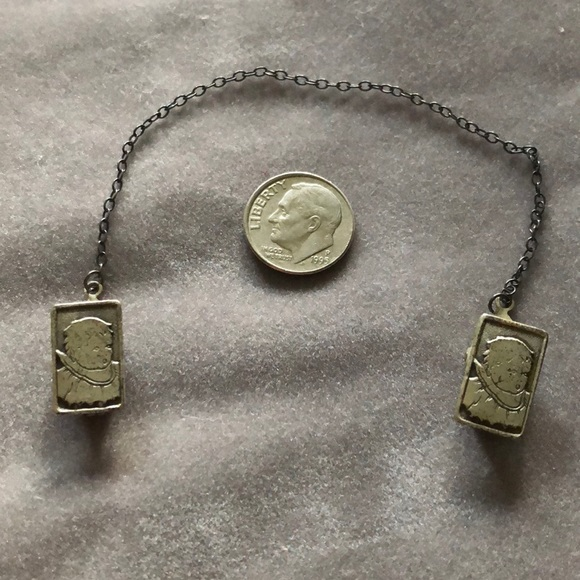 STERLING SILVER BIB CLIPS a book for the baby infant /& children/'s collectors